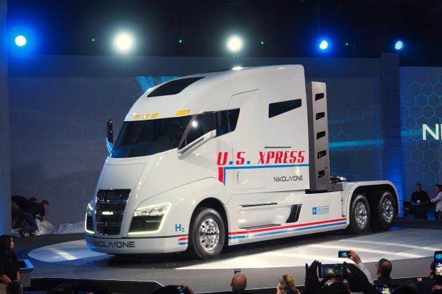 В США представили грузовик будущего