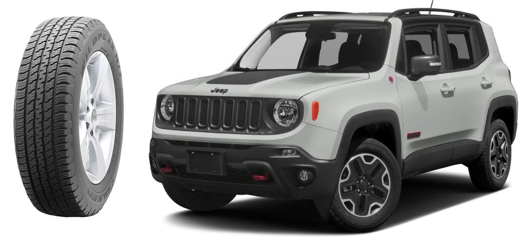 Sumitomo разработала спецверсию OЕ-шин Falken WildPeak H/T для Jeep Renegade Trailhawk 2017