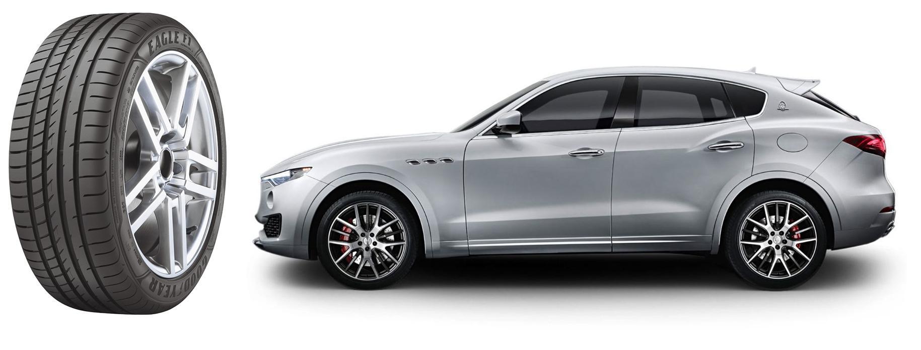 Шины Goodyear Eagle F1 Asymmetric 2 SUV омологированы для Maserati Levante