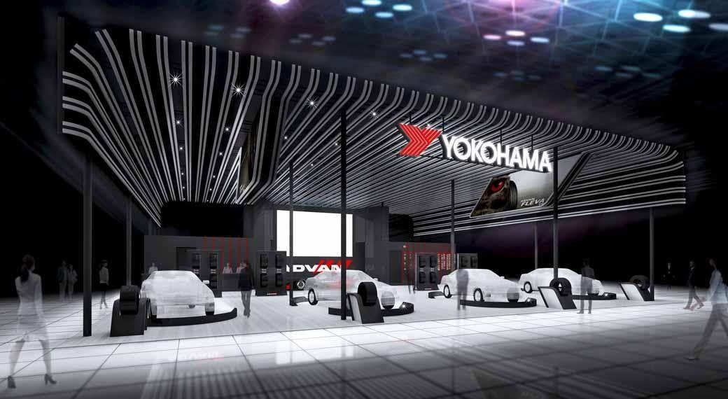 Yokohama представит на Токийском автосалоне шины и диски бренда ADVAN