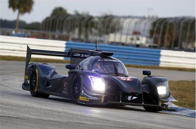 Dunlop завершает тестирование новых шин для спортпрототипов LMP2 2017 года