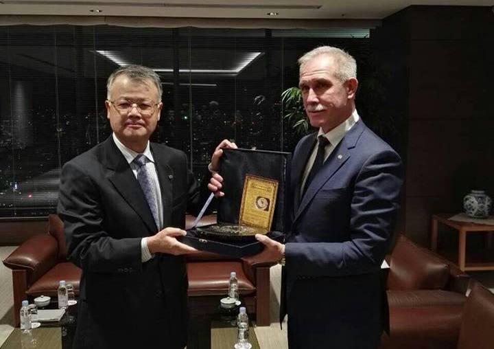 Ульяновский губернатор встретился с руководством Bridgestone в Японии