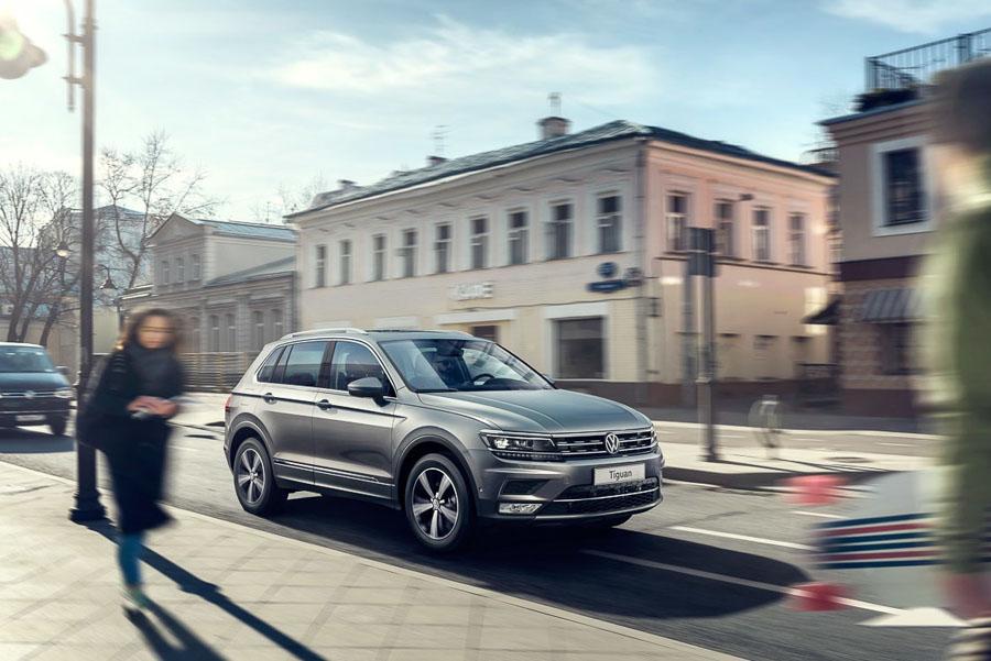 Volkswagen Tiguan: известны российские цены