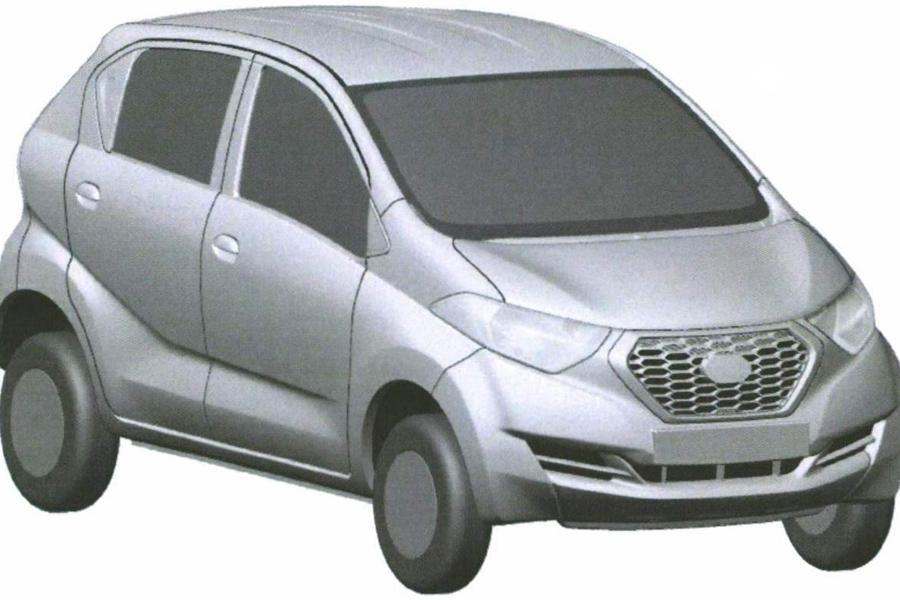 Datsun запатентовал в России внешность модели для Индии