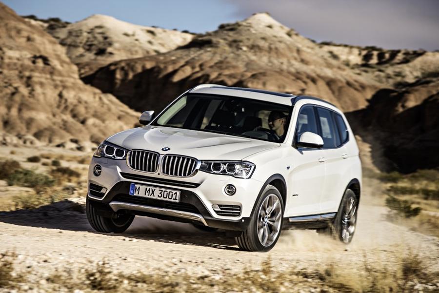 BMW X3 сменит поколение летом 2017 года