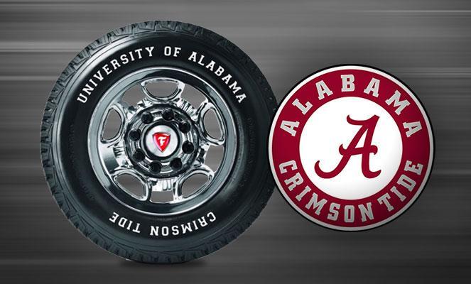 Firestone подготовила особые шины для болельщиков команды Crimson Tide из Алабамы
