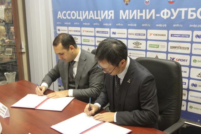 Yokohama продолжит спонсировать общероссийский проект «Мини-футбол - в школу»