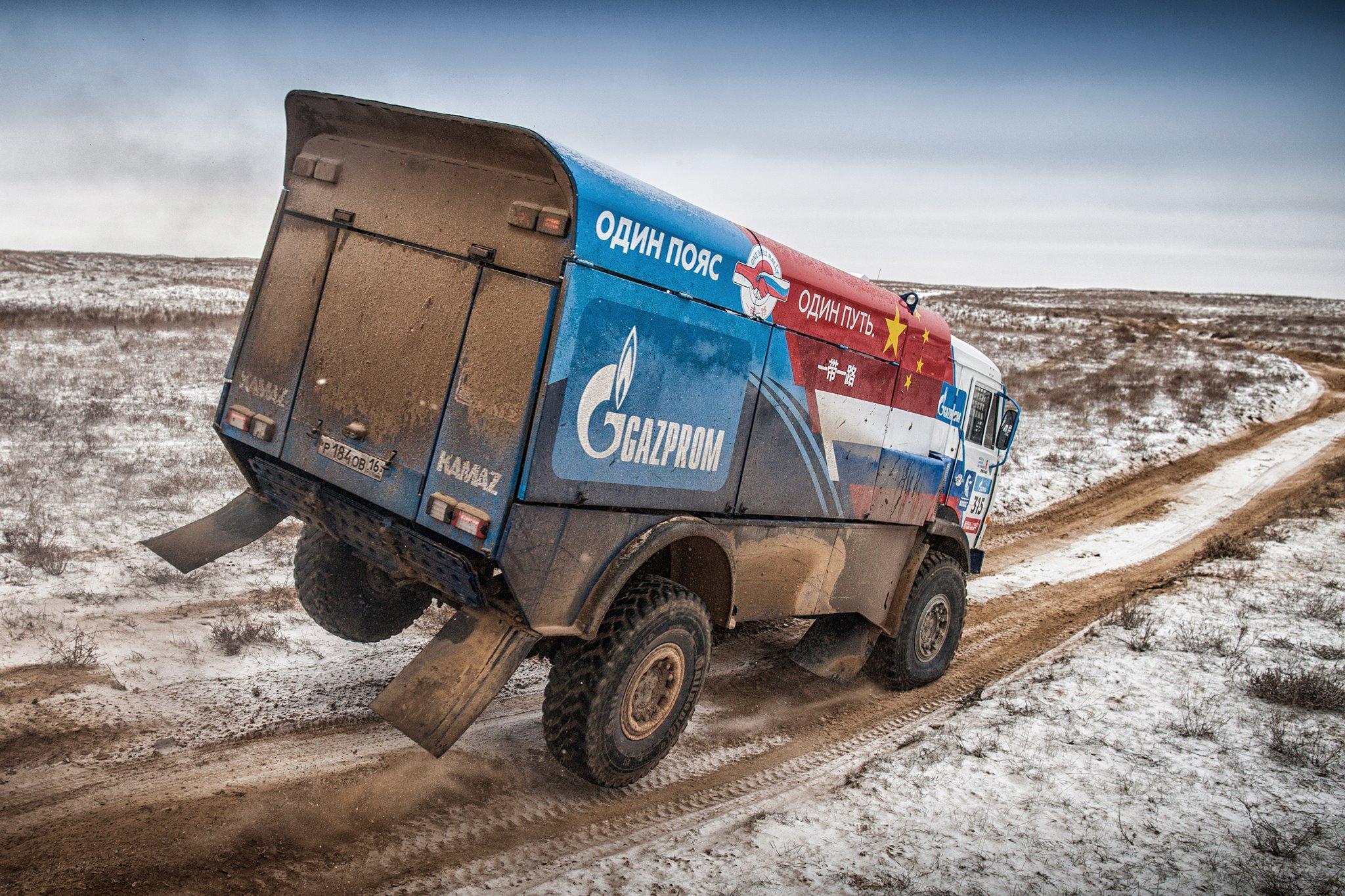 Для «Дакара-2017» команда «КАМАЗ-мастер» выбрала шины Continental