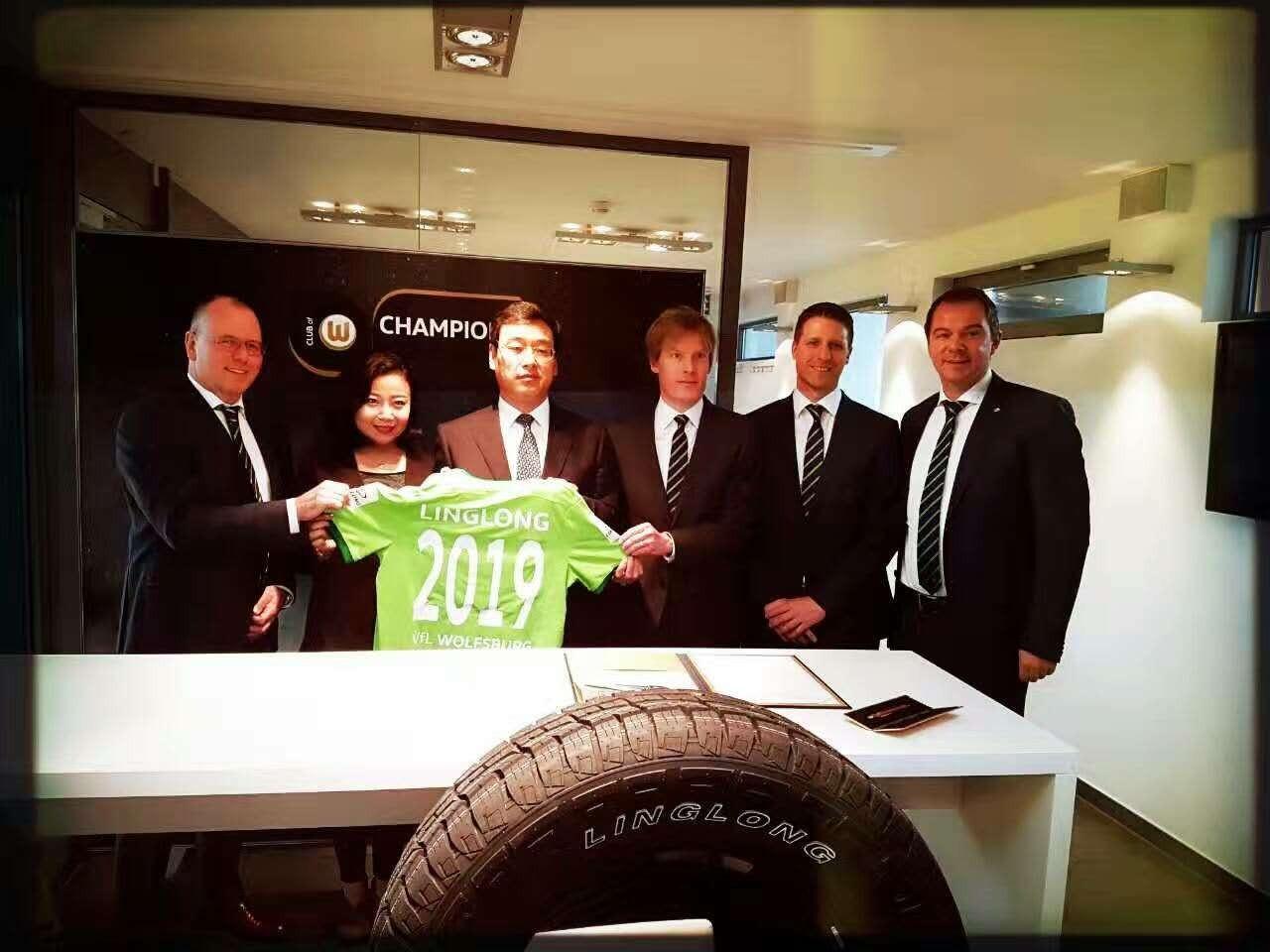 Linglong Tire продлила соглашение с VfL Wolfsburg
