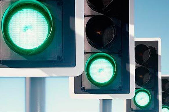 Американец проехал на зеленый 240 светофоров подряд