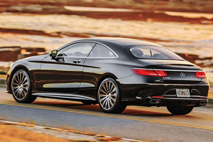 Mercedes S-Class Coupe отзывают в России
