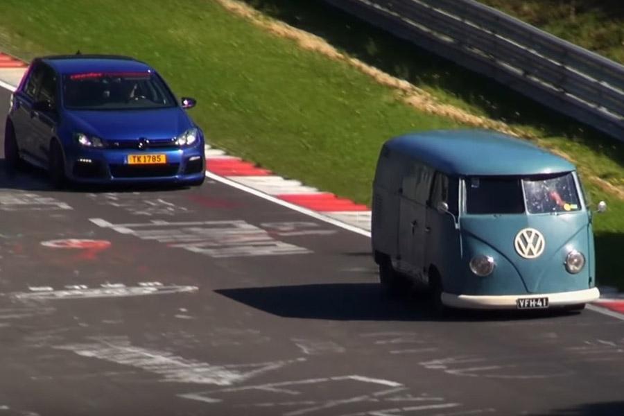 Нюрбургринг показал подборку необычных машин на треке