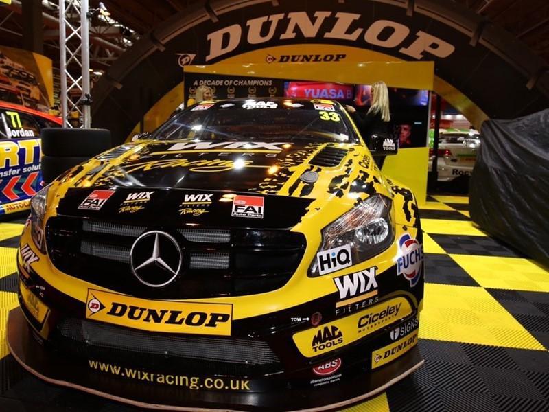 Dunlop увеличил ширину гоночных шин Sport Maxx и BluResponse для BTCC 2017