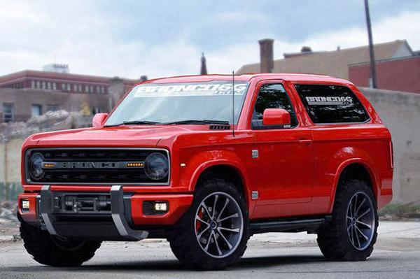 Ford подтвердил работу над новым Bronco