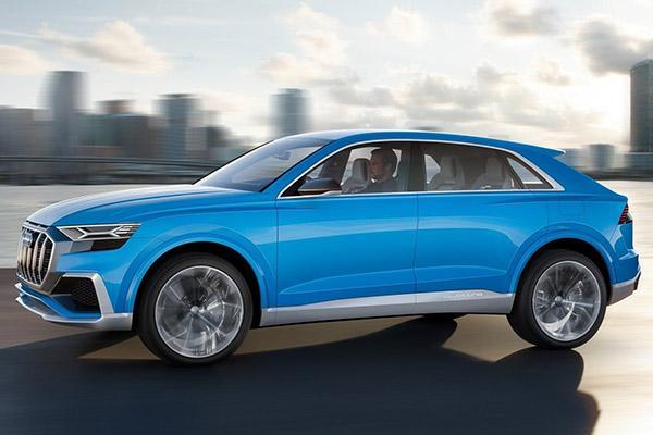 Автосалон в Детройте 2017: Audi Q8 Concept