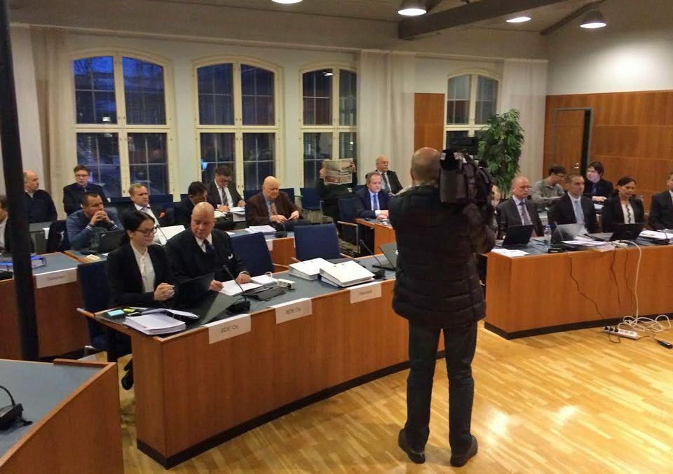В Финляндии начался судебный процесс по делу о промышленном шпионаже в Nokian Tyres