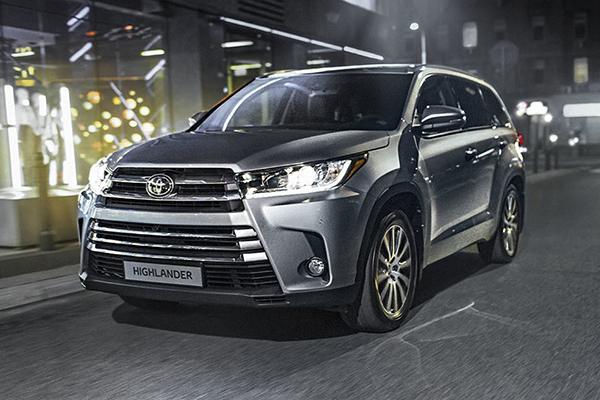 В Россию вернулась Toyota Highlander
