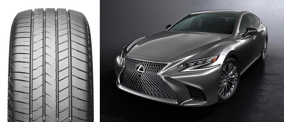 Bridgestone Turanza T005 RFT выбраны для оригинальной комплектации новых Lexus LS Sedan
