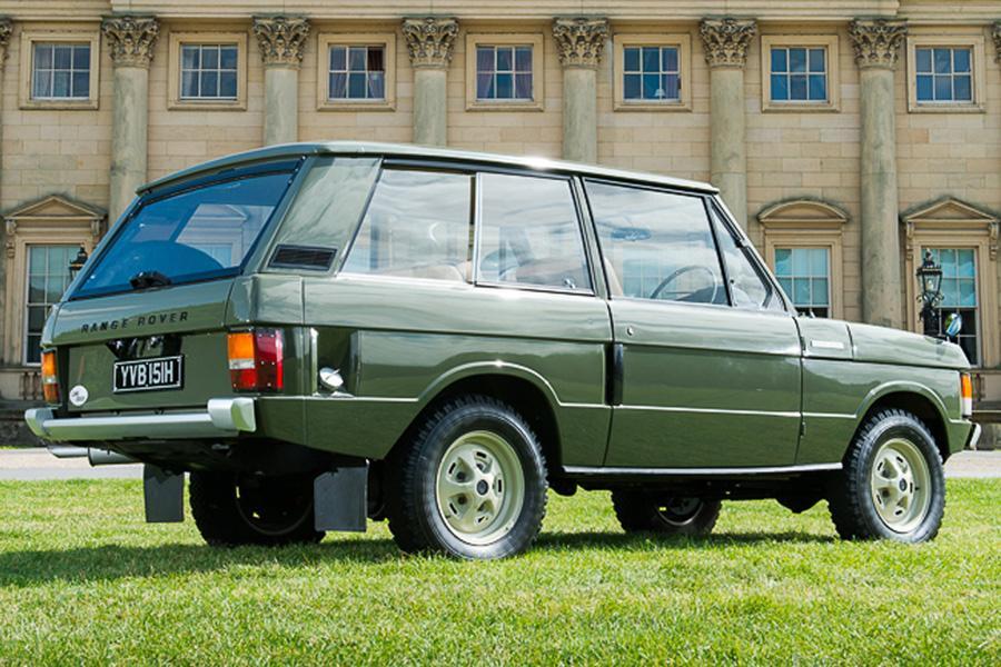 Range Rover вписал историю в полторы минуты