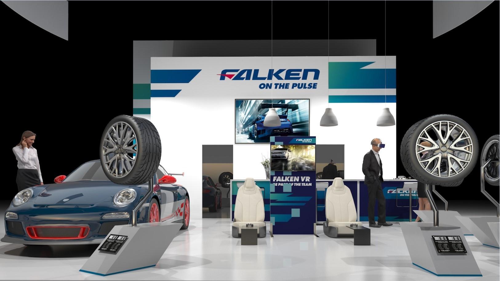 Шины Falken на выставке AutoZum 2017