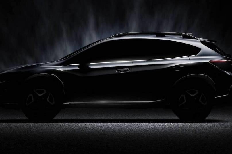 Subaru показала тизер нового XV