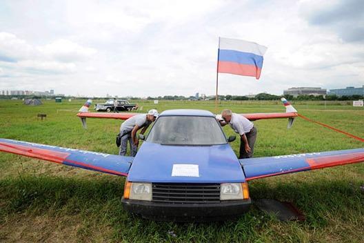 В России собираются строить летающий автомобиль
