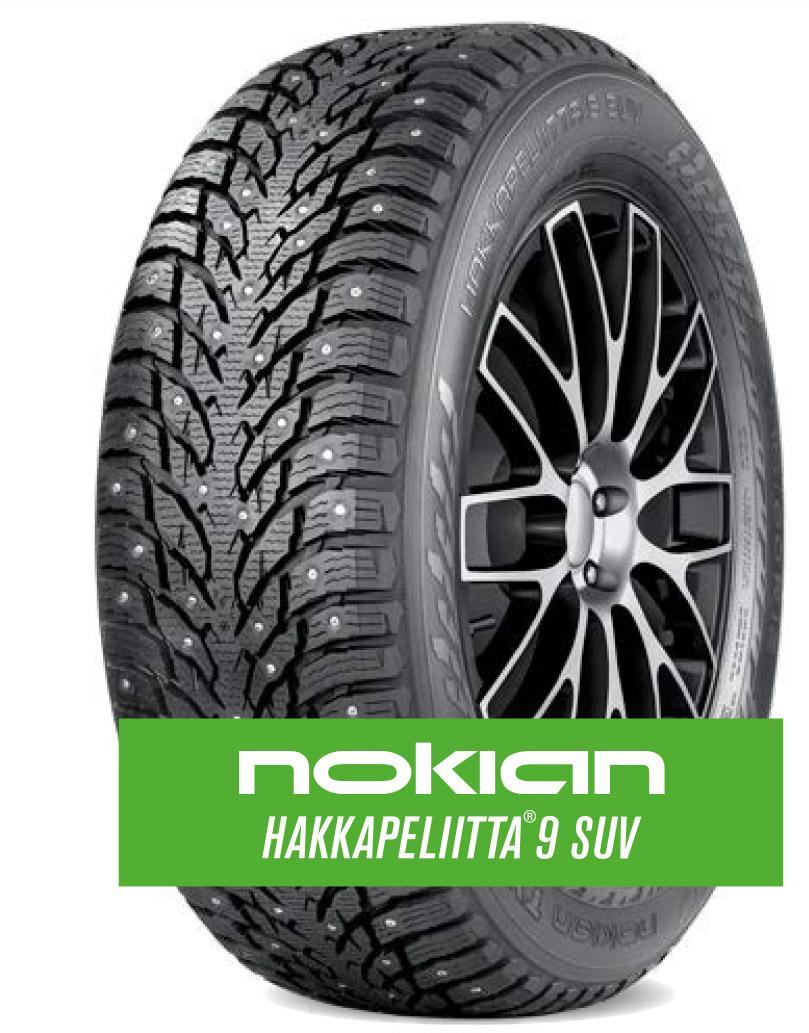 Nokian Hakkapeliitta 9 SUV - новый максимум безопасности и долговечности