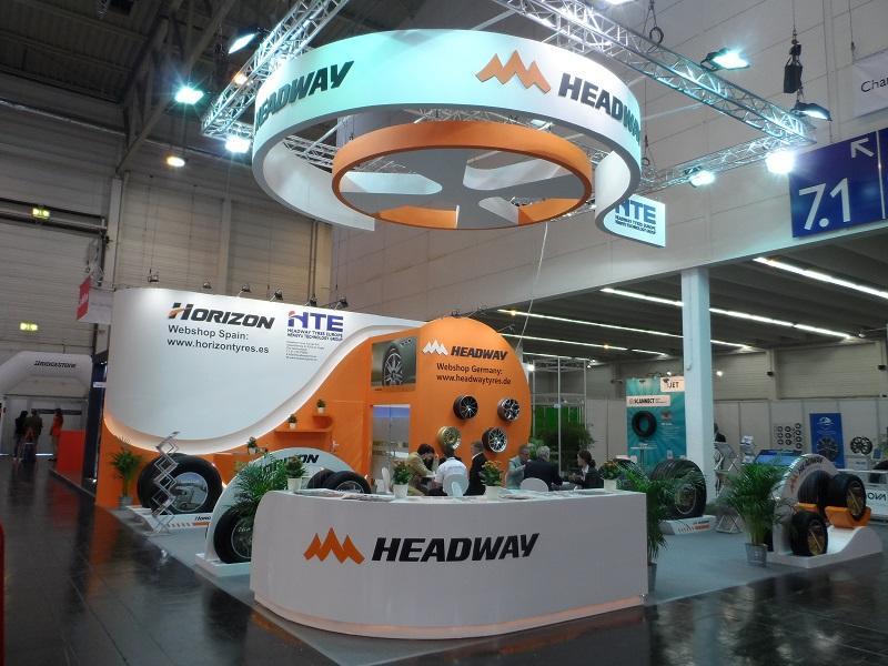 Headway Tyres Europe представит  свои новинки на выставке в Мадриде
