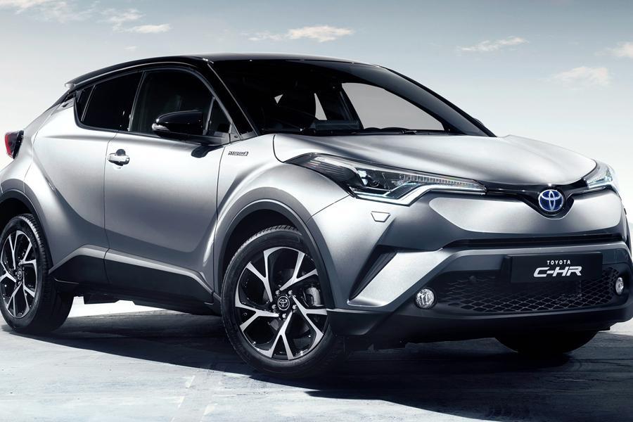 Toyota сертифицировала кроссовер C-HR для России