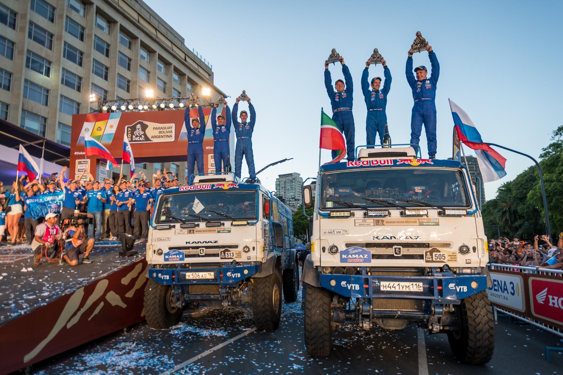 Continental и «КАМАЗ-мастер» начали сотрудничество с двух побед