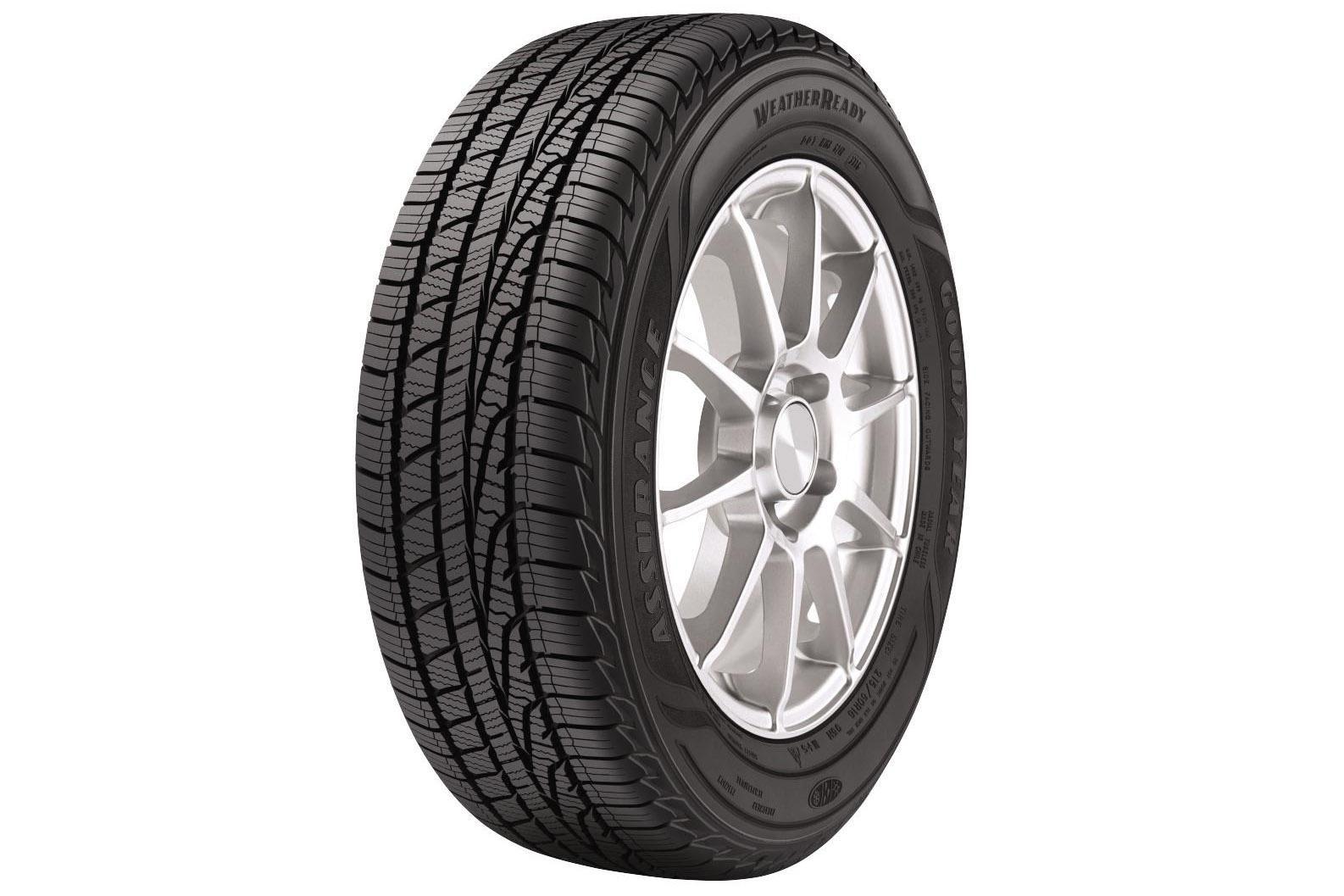 Goodyear Assurance WeatherReady - еще больше уверенности за рулем при любой погоде