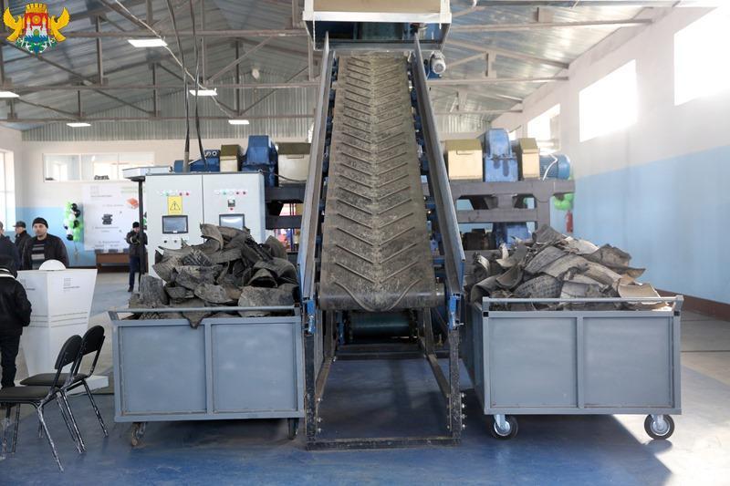 В столице Дагестана открыли завод по переработке автомобильных шин