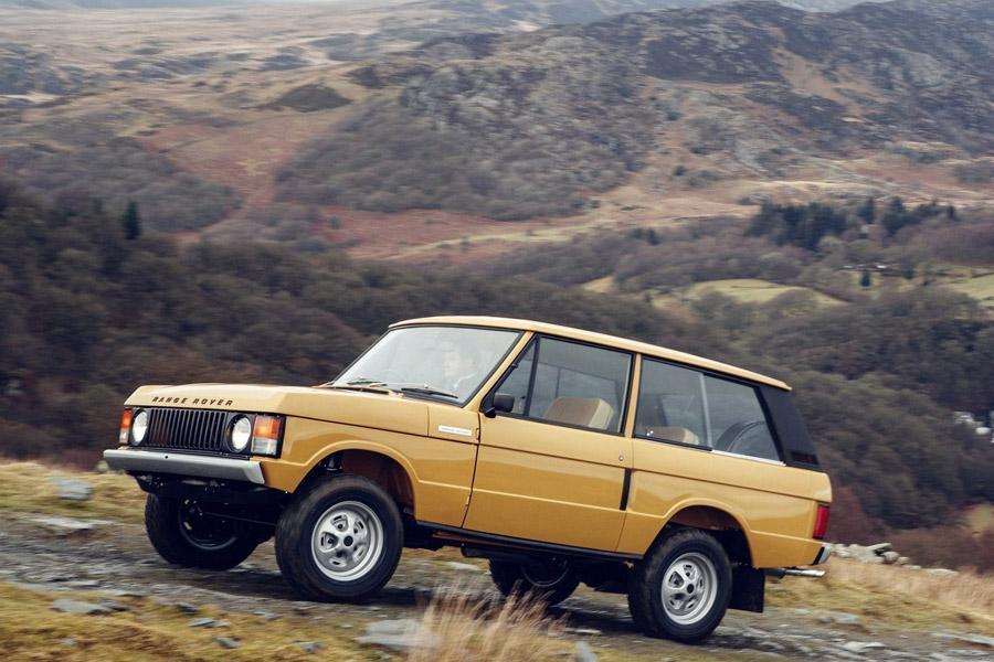 Классический Range Rover снова пойдет в производство