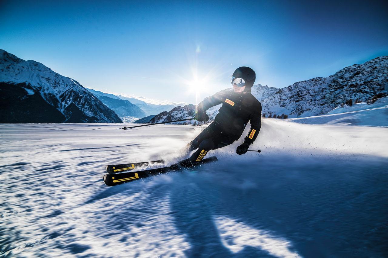 Технологии Пирелли в горнолыжном спорте