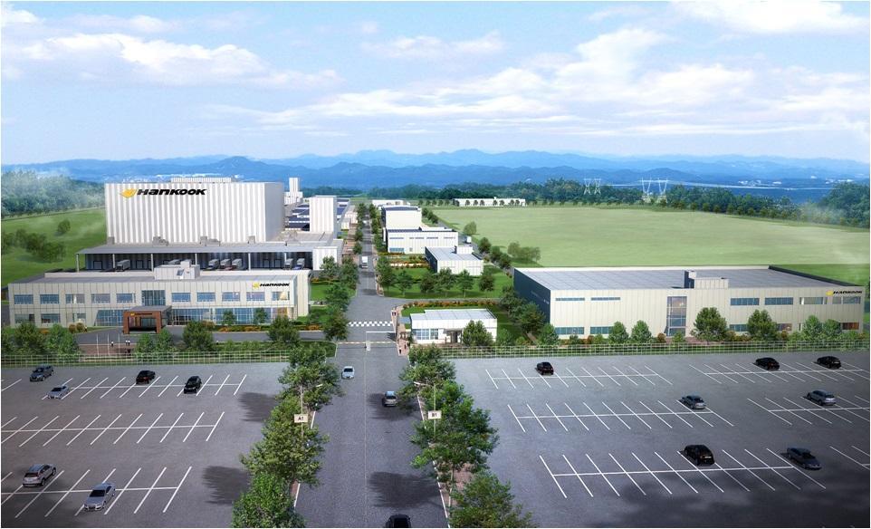 Hankook Tire объявило о наборе рабочих на новый завод в Теннесси