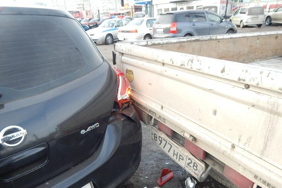 Около 40% аварий происходит во время парковки