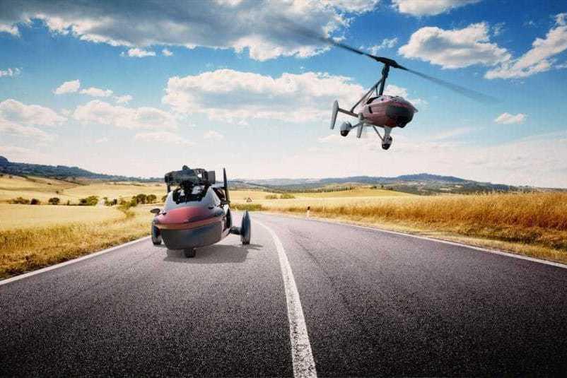Голландцы готовы начать продажи летающего автомобиля