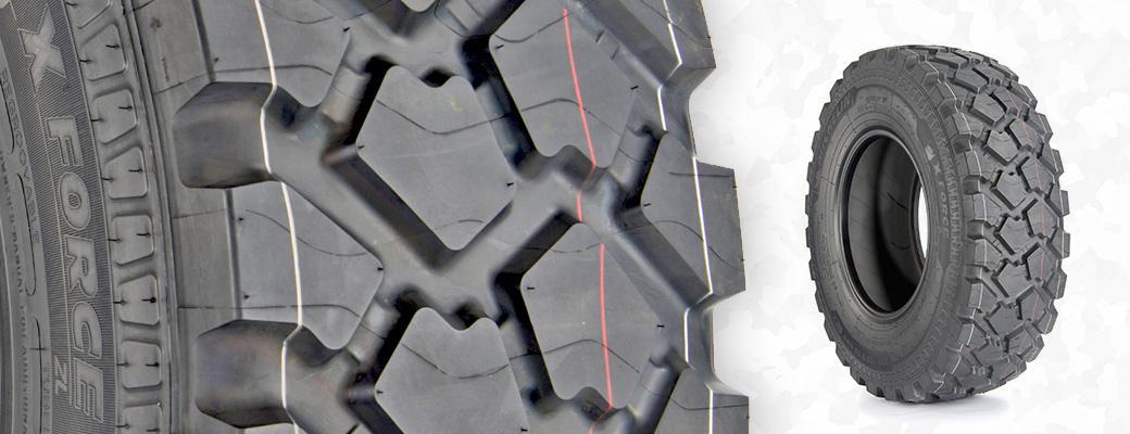Новая Michelin X Force ZL - гарантия мобильности для автомобилей  специального назначения