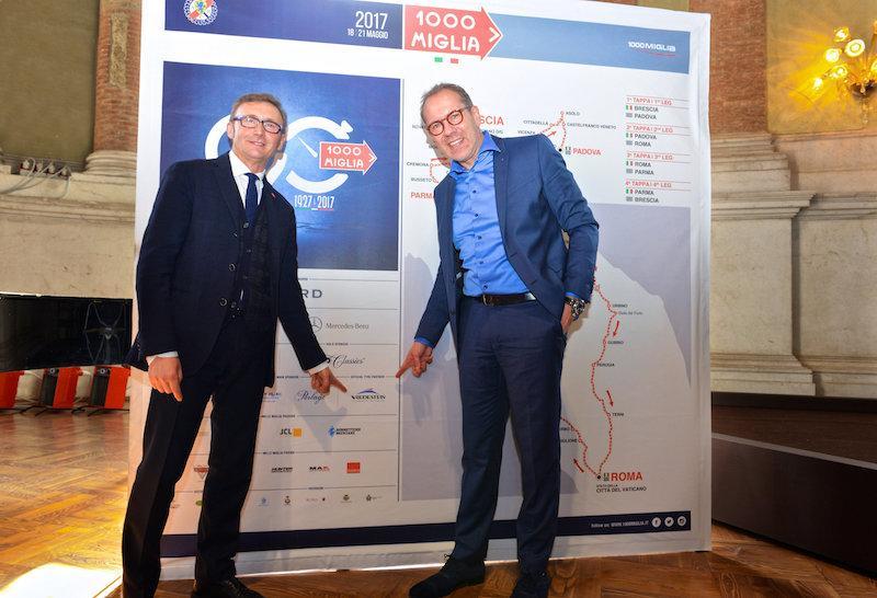 Vredestein - официальный шинный партнер ретро-ралли Mille Miglia