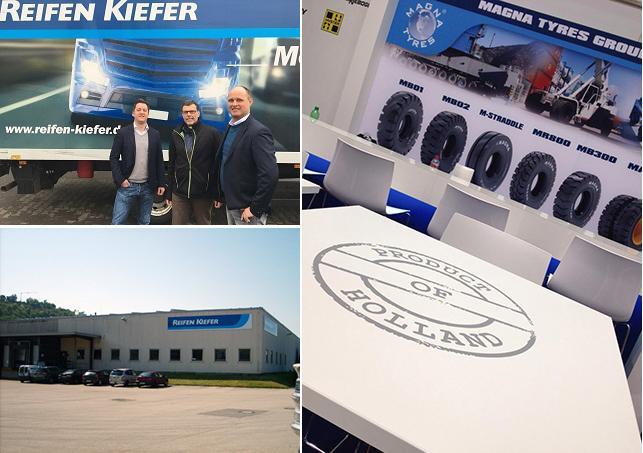 Reifen Kiefer займется продажами OTR-шин Magna в Германии