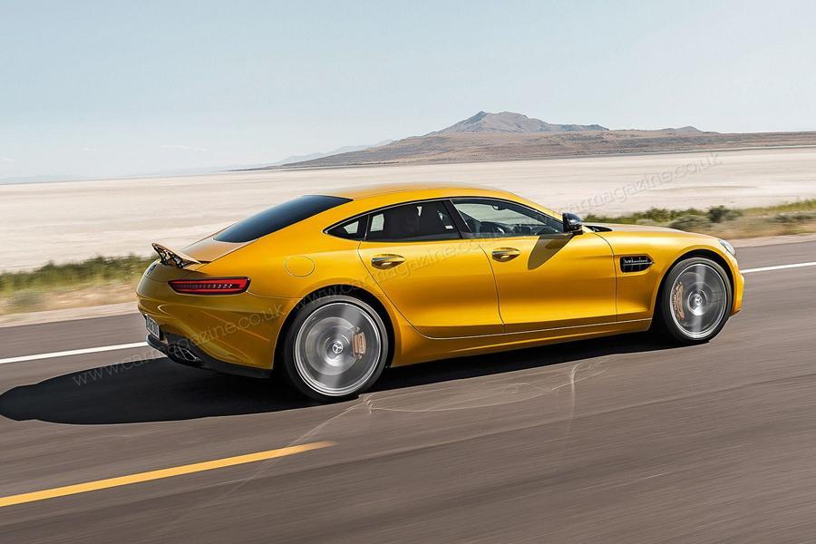 Mercedes-AMG представит конкурента Porsche Panamera
