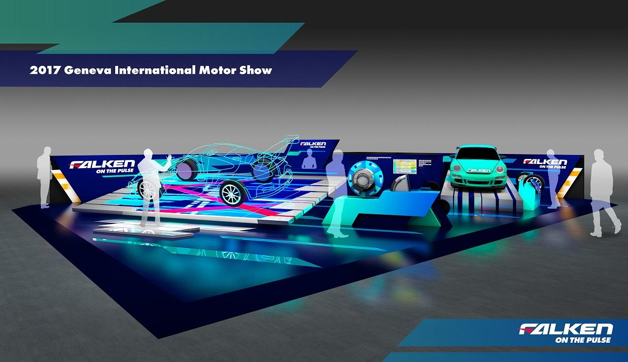 Бренд Falken впервые будет представлен на Женевском автосалоне