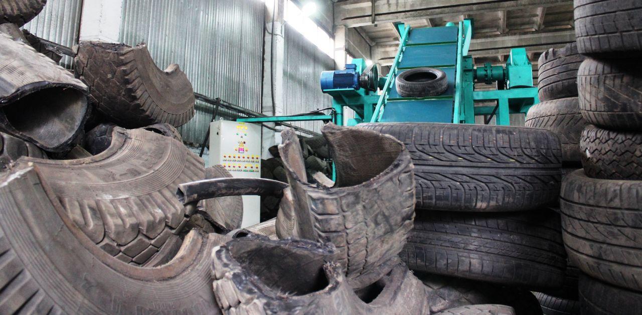 В 2016 году в Казахстане утилизировали 18 тысяч тонн старых покрышек