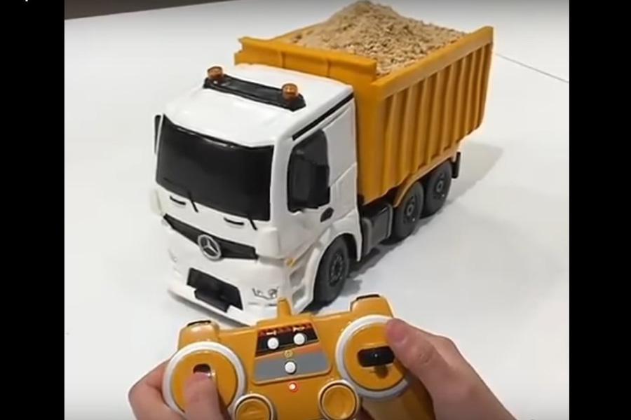 В Гонконге сделали необычный грузовик на радиоуправлении