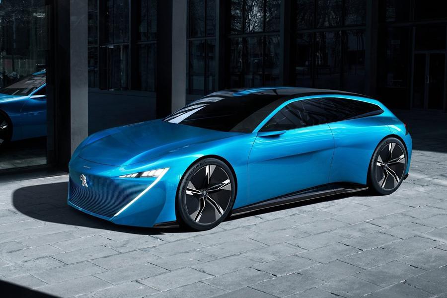 Peugeot приготовил к Женеве концепт Instinct