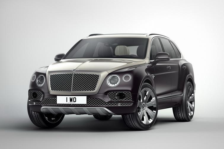 Bentley Bentayga стал стоить под миллион евро