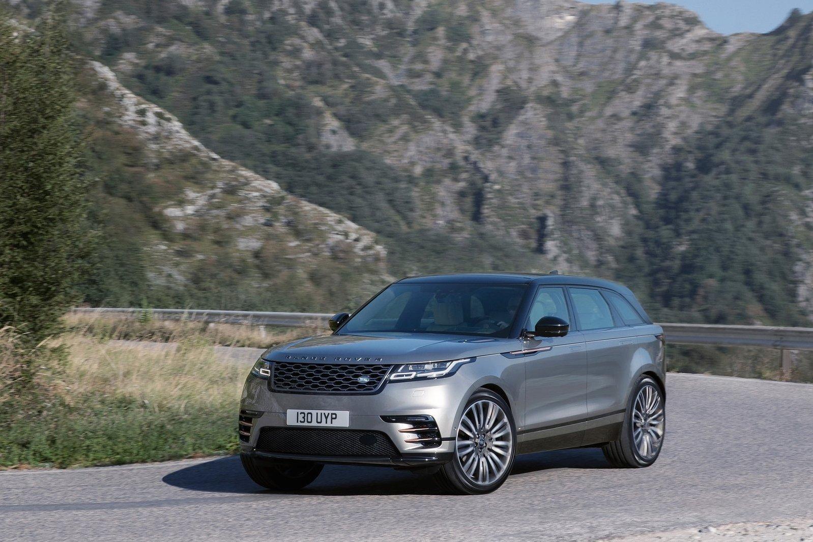 Land Rover назвал российские цены на Velar