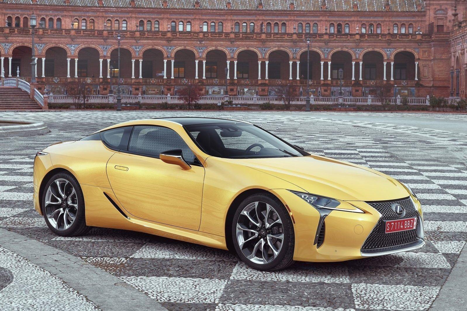 Lexus LC500: объявлен российский ценник