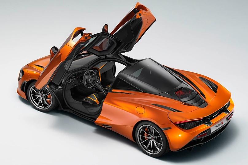 Фото нового суперкара McLaren попало в сеть