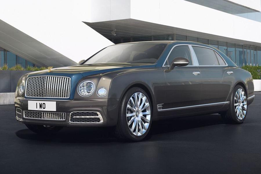 Bentley покажет в Женеве спецсерию модели Mulsanne